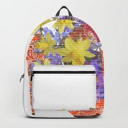 Blooming Shoe Backpack
