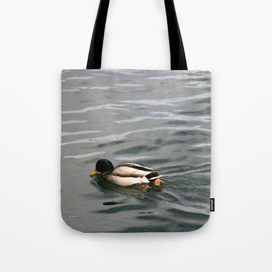 Portrait of a Mallard Tote Bag