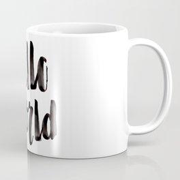 Hello World - Hand Lettering Coffee Mug