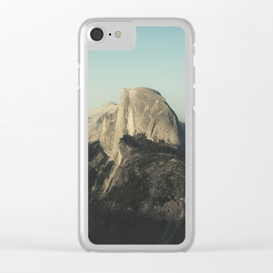 Half Dome X Clear iPhone Case