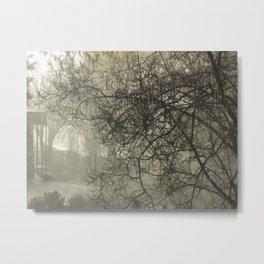 The Rain Metal Print
