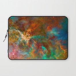 Mystic Mountains - Carina Nebula Astronomy Image Laptop Sleeve