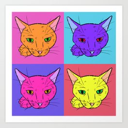 What's New Pussy Cat Art Print