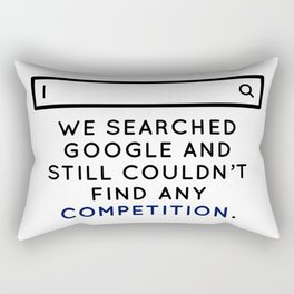 Champion Winner Zenith Best Top Number One Uno Ace Boss Rectangular Pillow