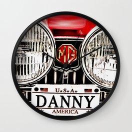 MG Danny Wall Clock