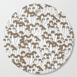 Beech Mushrooms Cutting Board