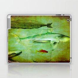 Hostile environment for a goldfish Laptop & iPad Skin