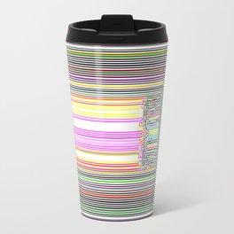 Moderne Glitch Travel Mug