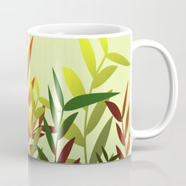Autumn Leaves green Coffee Mug