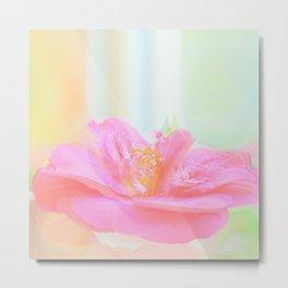 Artistic Camelia Flower Metal Print