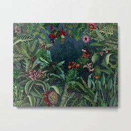 Midnight rainforest I Metal Print