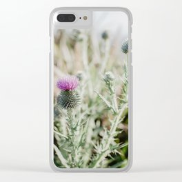 Distel Clear iPhone Case