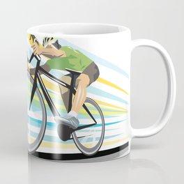 Illustration Graphic Design: Finish Line Coffee Mug