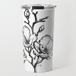 Magnolias Travel Mug