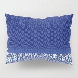 ART DECO WEIM WAVES Pillow Sham