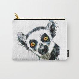 Lemur Head Carry-All Pouch