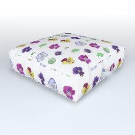 viola pattern Outdoor Floor Cushion