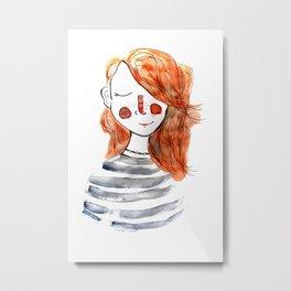 Autorretrat Metal Print