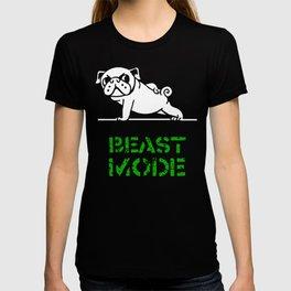 Beast Mode Pug T-shirt