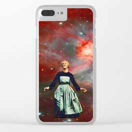 Sound of Space Clear iPhone Case