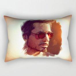 Genius. Billionaire. Playboy. Philanthropist Rectangular Pillow