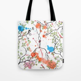 GOOD MORNING by mrs Wilkes Tote Bag