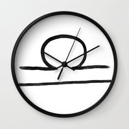 Libra Grit Wall Clock