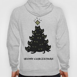 Christmas Tree Cat Hoody