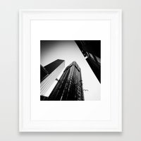 giants Framed Art Prints featuring Giants by Daniel Hachmann
