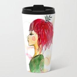 Vegan lady Travel Mug