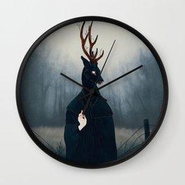 Deep Forest Saint Wall Clock