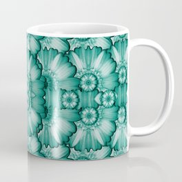 Sea and florals in deep love Coffee Mug