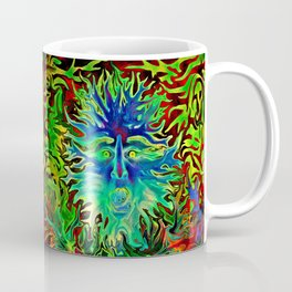 Blue Sings Coffee Mug