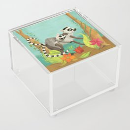 Babies on Backs Acrylic Box