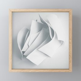 Abstract forms 22 Framed Mini Art Print
