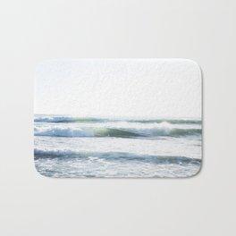 Beach Waves Bath Mat