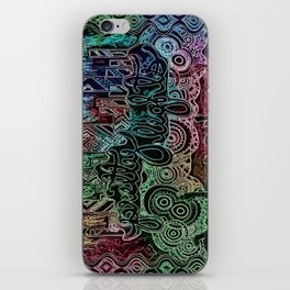 All of the Glowing Lights iPhone Skin