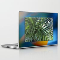 palm Laptop & iPad Skins featuring palm by Hannah Siegfried