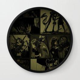 Bendy vintage 2 Wall Clock