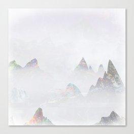 Emerald Mountains Canvas Print