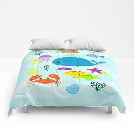 Under The Sea Comforters