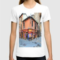 grafitti T-shirts featuring Grafitti on Elvira Street by Simon Ede Photography