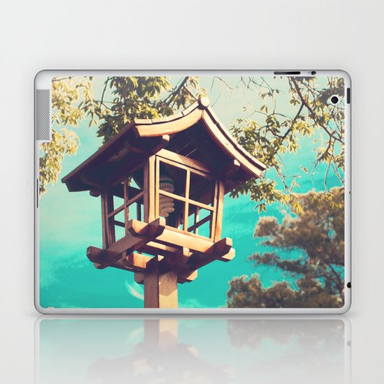 Japanese Lamp  (Retro Vintage Photography) Laptop & iPad Skin