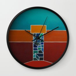 """Temple"" Wall Clock"