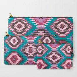Navajo Dreams - Turquoise Carry-All Pouch