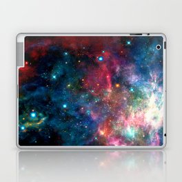 Cosmic Connection, Galaxy, Space, Nebula, Stars, Planet, Universe, Laptop & iPad Skin
