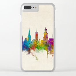 Shrewsbury England Skyline Clear iPhone Case
