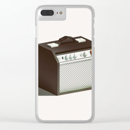 Lo-Fi goes 3D - Guitar Amp Clear iPhone Case