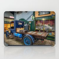 truck iPad Cases featuring Vintage Truck by Adrian Evans