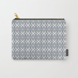 Urban Geometric modern square shapes mid century pattern soft pastel pink 02 Carry-All Pouch